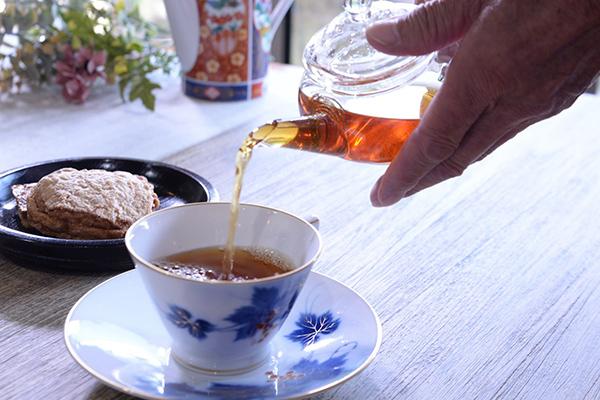 波動ダージリン和紅茶イメージ